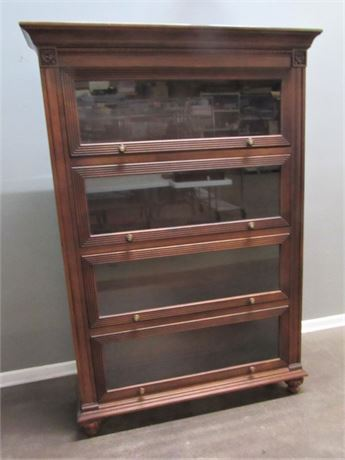 Great Looking Ethan Allen Marshall Barrister Style Bookcase