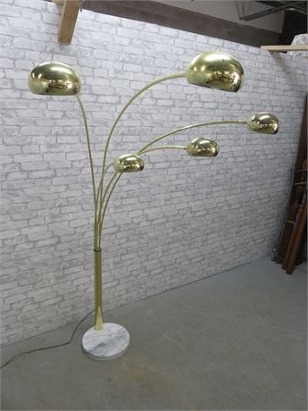 Ateljé Lyktan Mid-Century Five-Arm Floor Lamp