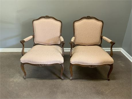 Antique Victorian Arm Chairs