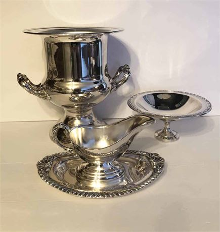Vintage Silverplate Serving Lot