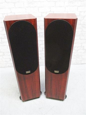 LOT OF 2 PHASE TECHNOLOGY TEATRO 7.5 FLOORSTANDING SPEAKERS