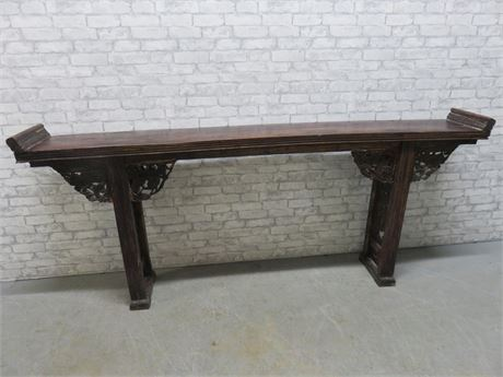 Vintage Large Chinese Altar Table