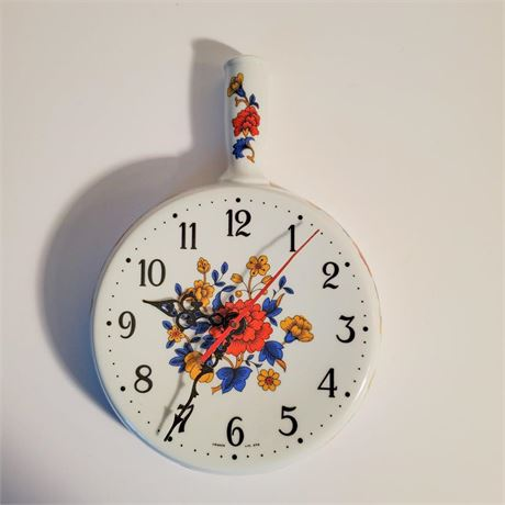 Vintage Le Trefle Limoges Wall Clock