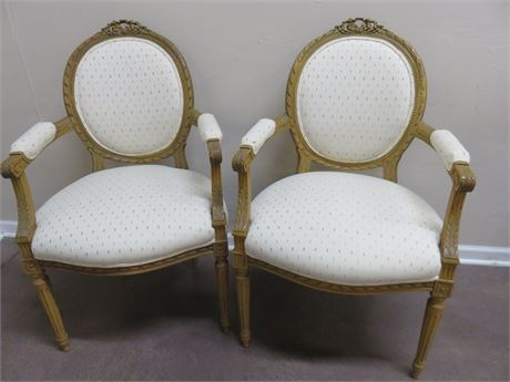 Vintage Victorian Style Chairs