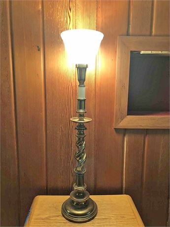 Opal Glass Table Lamp