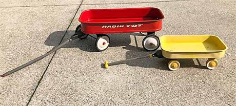 Vintage Radio Flyer Tot Wagon