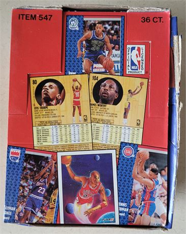 1991-92 Fleer Basketball Untouched From a Sealed Case