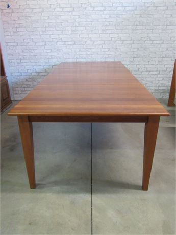 Cherry Finished Dining Table