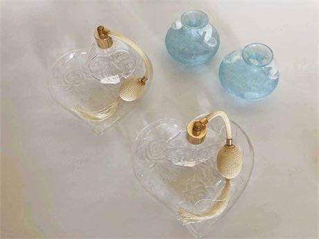 Perfume Decanters & Murano Art