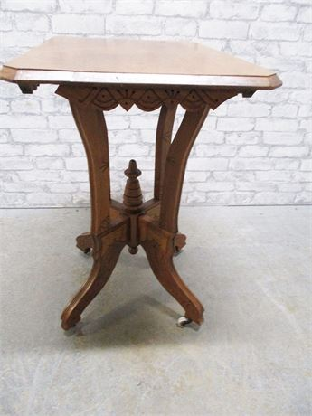 VINTAGE CARVED TABLE