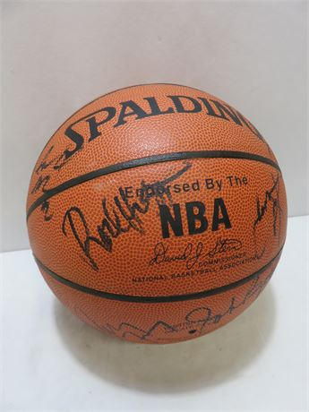 SPALDING NBA 1993 Cleveland Cavaliers Signed Basketball