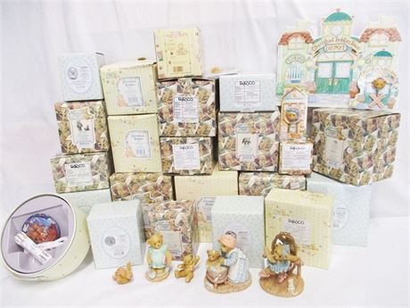 ANOTHER LOT OF MORE THAN 30 BABY-THEMED CHERISHED TEDDIES