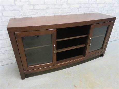 Bow Front Television Stand