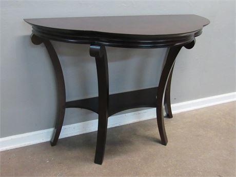 Demilune/Console Table