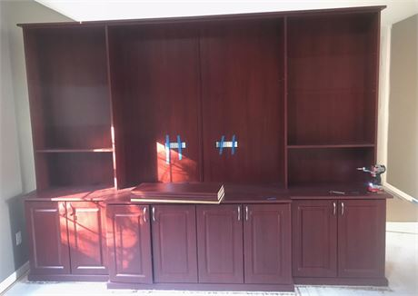Large Entertainment Center Wall Unit