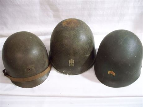 3 PIECE VINTAGE MILITARY/ARMY LOT