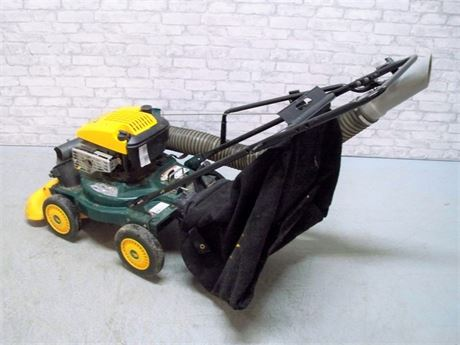 YARDMAN 4 IN 1 YARD VAC WITH BAG AND HOSE