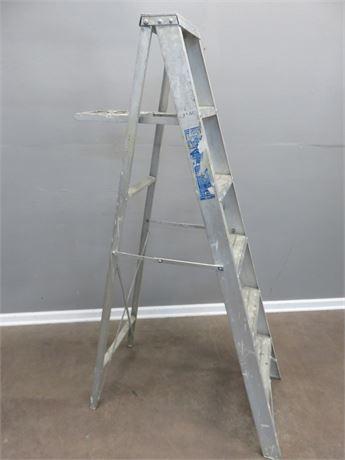 SEARS 6-ft. Aluminum Step Ladder
