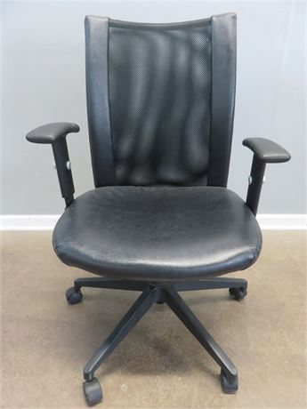 Adjustable Swivel Office/Desk Arm Chair with Mesh Back