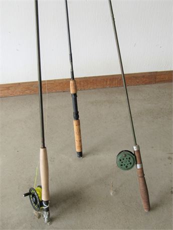 3 Fishing Rods including Cabela's and Penn