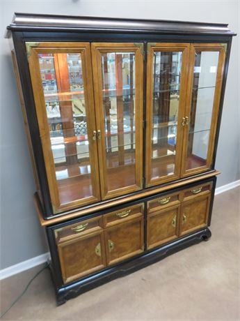 BROYHILL Asian Style China Hutch