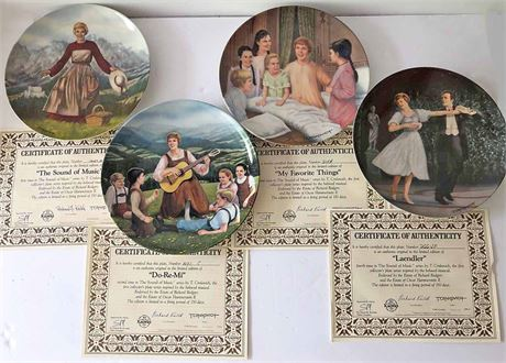 The Sound of Music Plate Collection