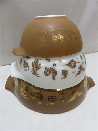 PYREX 3-Piece Bowl Set