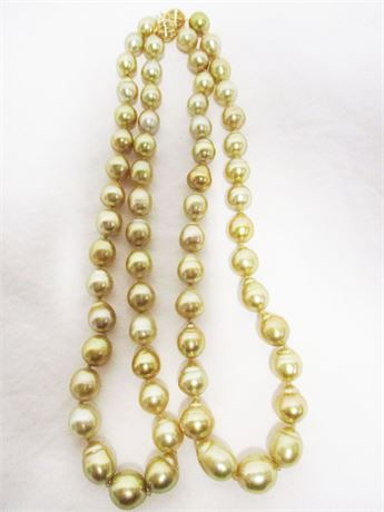 "35"" FRESH WATER CULTURED PEARL NECKLACE"
