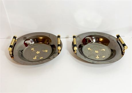 Vintage Giorinox Serving Plates