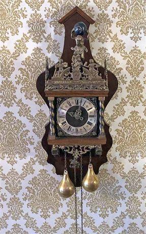 Vintage Dutch WUBA Clock