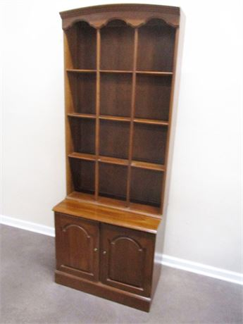 "ETHAN ALLEN ""SHEFFIELD"" BOOKCASE"