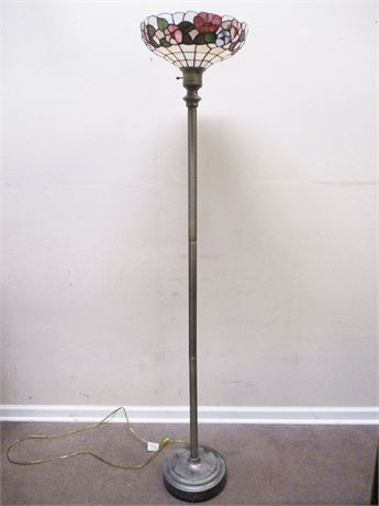 ONE MORE TIFFANY-STYLE FLOOR LAMP