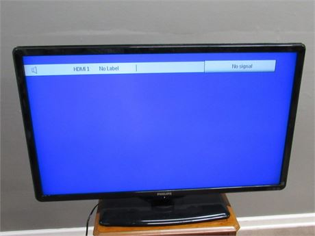 "Philips 42"" Flat Panel LCD TV with Remote"