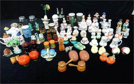 Vintage Salt and Pepper Shaker Collection