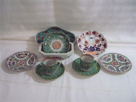 11 PIECE MISC. CHINA/CHINESE PORCELAIN LOT