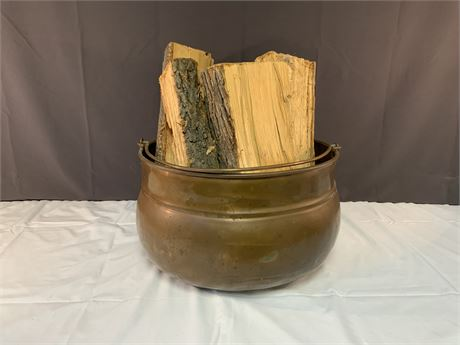 Copper Bucket with Handle