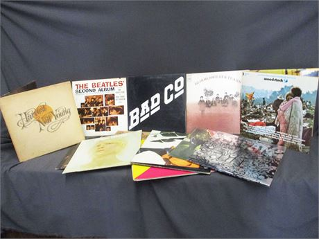 LOT OF 16 CLASSIC LPs
