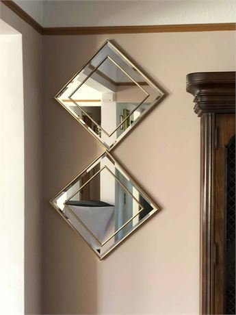 Beveled Wall Mirrors