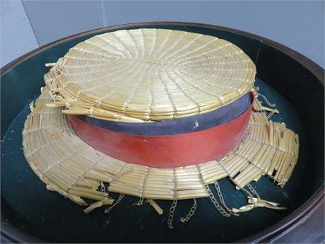 Original BARNABY (Linn Sheldon) Straw Hat