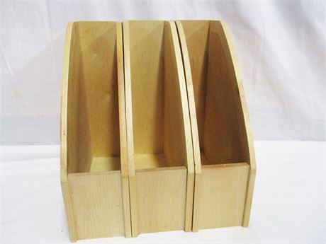 LOT OF 3 MAGAZINE HOLDERS