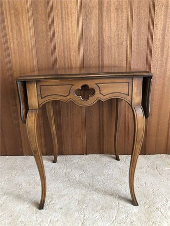 Drop Leaf Accent Table
