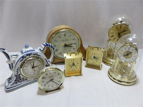 7-Piece Clock Lot