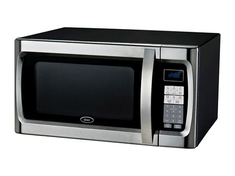 OSTER 1.3 CU.FT. COUNTERTOP MICROWAVE OVEN - NEW IN BOX
