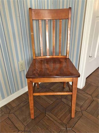 Square Spindle Back Chair