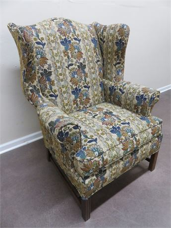 HICKORY CHAIR CO. Tapestry Wingback Chair