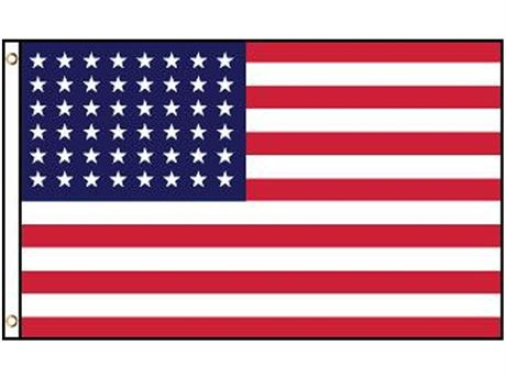 3' X 5' AMERICAN FLAG - NEW IN PACKAGING
