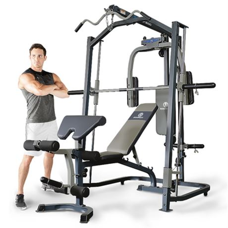 MARCY MP3100 PLATINUM STRENGTH HOME GYM WITH WEIGHT BENCH
