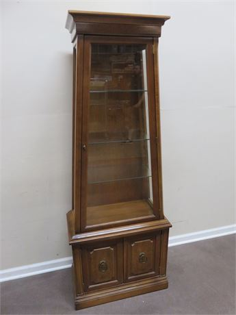 Arts and Crafts Style Curio Cabinet