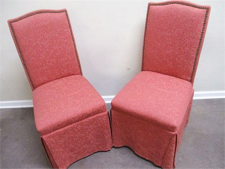 LOT OF 2 PARSONS CHAIRS