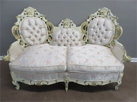 Versailles French Provincial Loveseat